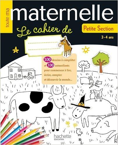 Livre Toute ma maternelle - Le cahier de PS pdf epub