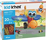K'NEX Kid Wings & Wheels Building Set -  65 Pieces - Ages 3+ - Preschool Educational Toy