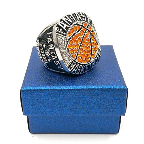 Fantasy Basketball League Champion Championship Rings Trophy Prize No Years (Best Fantasy Basketball League)