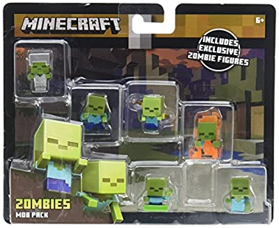 Mattel Minecraft Mini-Figure Mob Pack (Styles May Vary) Action Figure