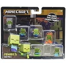 Minecraft Zombie Mob Mini Figure Pack