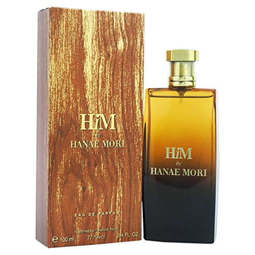 Hanae Mori Him EDP Spray for Men, 3.4 Ounce (Packaging May Vary)