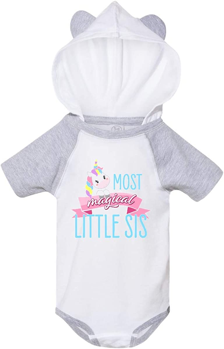 Cute Unicorn Infant Creeper inktastic Most Magical Little Sis