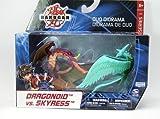Bakugan Battle Brawlers Duo Diorama - Dragonoid Vs. Skyress