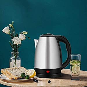 Z SIGNS Electric Kettle Hot Water Kettle, Upgraded, 2 Liter Stainless Steel Coffee Kettle & Tea Pot, Water Warmer…
