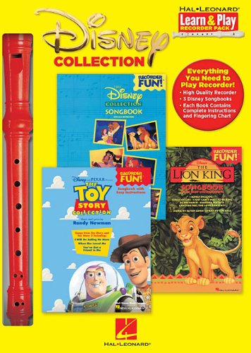 Disney Collection - Learn And Play Recorder Pack Disney Favs/Collection/Toy Story Box (Learn & Play Recorder Pack)