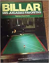 Billar. Mis jugadas favoritas: Amazon.es: PARERA SANS, Valeriano ...