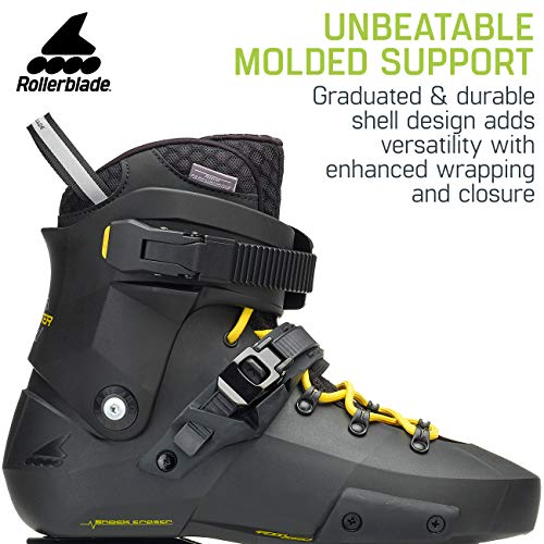 Rollerblade Twister Edge Men's Adult Fitness Inline Skate, Black and Yellow, High Performance Inline Skates by Rollerblade (Image #3)