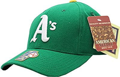 Oakland Athletics 1976 Retro Wool Fitted Cap