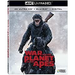 War for the Planet of the Apes on Digital Oct. 10 and on 4K, Blu-ray, DVD Oct. 24 from Fox