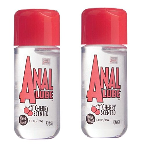 2 Water-based Personal Anal Lube Lubricant Cherry Scented