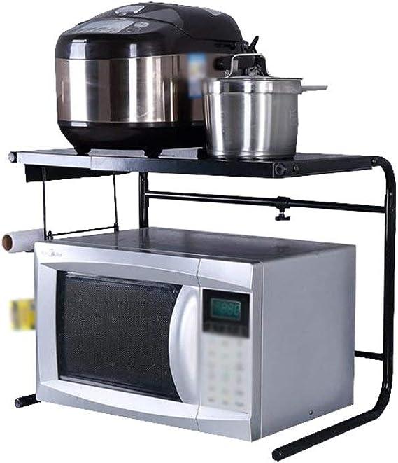 DUDDP cocina estanterías Estante de cocina Telescópico ...