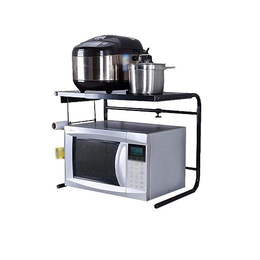 DUDDP cocina estanterías Estante de cocina Telescópico Ajustable ...