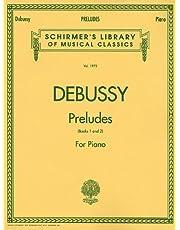 Preludes - Books 1 and 2: Piano Solo