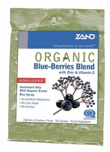 ZAND LOZENGES HRBL BLUEBRY ORG, 18 PC
