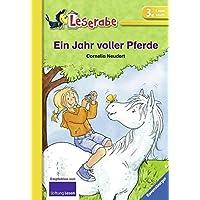 Ein Jahr voller Pferde (Leserabe - Schulausgabe in Broschur)