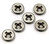 8mm airsoft bushing - SHS 8mm Cross Slot Steel Oil-retaining Bushings for Airsoft AEG Gearbox [For Airsoft Only]