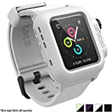 Catalyst Waterproof Apple Watch Case 38mm Series 2 with Premium Soft Silicone Apple Watch Band, Shock Proof Impact Protection, Alpine White