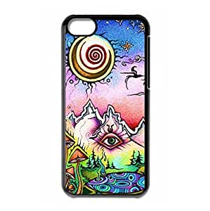 Hard back shell with Fantasy Trippy style for iPhone 5C