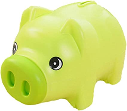 1pc Pig Saving Jar Money Pot Adorable Piggy Bank Coin Saving Pot Kid/'s Birthday
