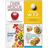 img - for Medical Medium Liver Rescue [Hardcover], Food Wtf Should I Eat, Alkaline Detox Reset Cleanse, Medical Autoimmune 4 Books Collection Set book / textbook / text book