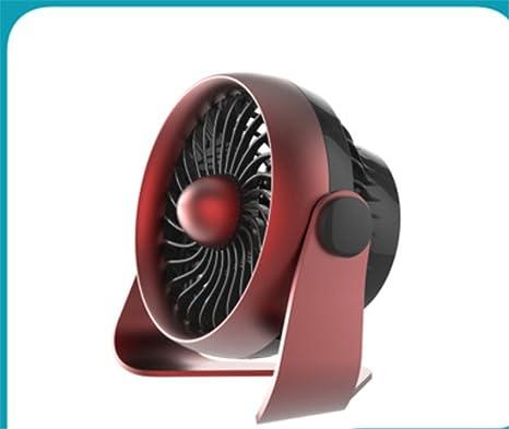 Mini Ventilador USB 4 Pulgadas Spray Escritorio Creativo De Ventilador Silencioso 360 Grados Ordenador Portátil Perfecto