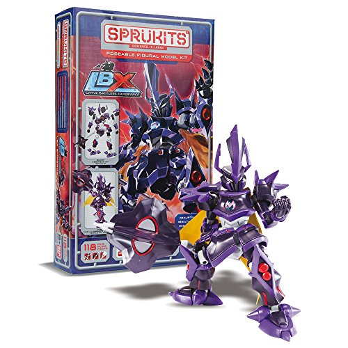 Sprukits Little Battlers Experience Emperor Model Kit