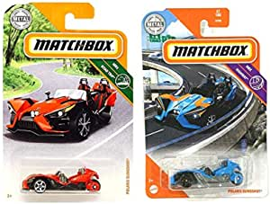 New 2020 Matchbox Polaris Slingshot 57//100 MBX HIGHWAY Case F