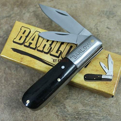 Barlow Folding Pocket 2 Blade Knife 3.5\