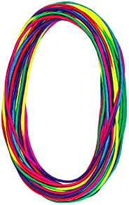 PARACORD PLANET Colorful Rainbow Cord Tie Dye Style Type III 7 Strand 550 Paracord – Available in 10, 25, 50,