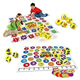 Learning Resources Alphabet Marks The Spot Floor Mat and Math Marks The Spot Floor Game, Educational Toys, Letters, Sounds, Language, School Readiness, Numbers, Colors, Addition, Subtraction