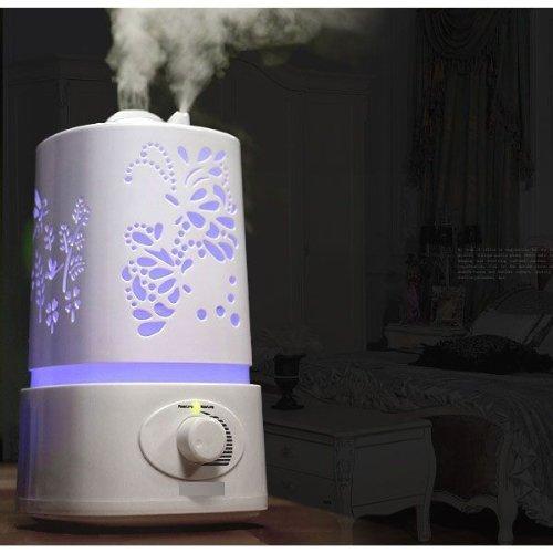 Signstek 1500ml 1.5L LED Ультразвуковая Арома диффузор Увлажнитель-очиститель воздуха Mist с 7 Авто цвета Changings и режим Mist Регулировка (Dragonfly)