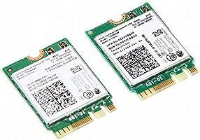 Intel 7260NGW Dual Band Wireless-AC 7260 802.11ac, Dual Band, 2x2 Wi-Fi and Bluetooth 4.0