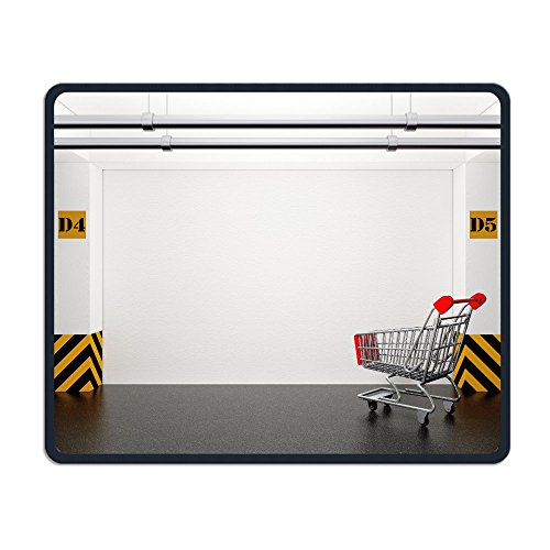 ZhiqianDF Abandoned Shopping Cart In Underground Parking Garage Extreme Closeup D Rendering Waterproo Mouse - Shopping Online Miami