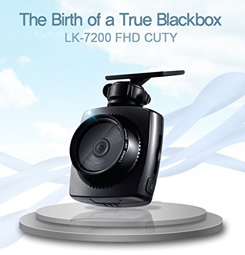 LUKAS LK-7200 FHD CUTY DDR Drive Data Recorder Black Box Dash Cam 1CH 16GB 1080p @ 30fps