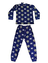 NYPD Kids Pajama Set Boys 2 Piece Sleepwear Blue