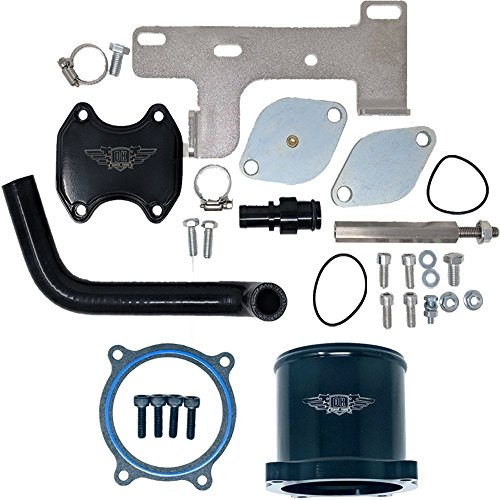 EGR Valve and Throttle Valve Kit - Dodge Cummins 6.7 6.7L 2010-2017 - DK Engine Parts (2010-2017 W/TVD) (Best Egr Delete Kit For 6.7 Cummins)