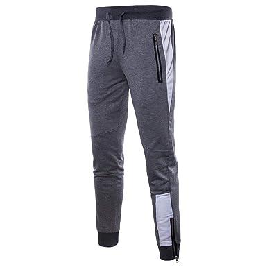 Pantalones De Chándal Para Hombre Con Pantalones Cordón ...