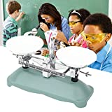 100/500 Gram Mechanical Balance Scale with 5g, 10g, 20g, 50g,100g,200g Weights for School Physics Experiment Accessory Lab Supplies