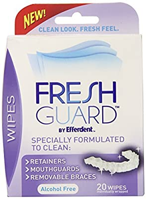 Fresh Guard Soak Specially Formulated for Retainers Mouth Guards and Removable Braces