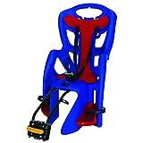 Bellelli Pepe Clamp Fit Porta Bebé (Azul/Rojo, 22.68 kg - 50 lb)