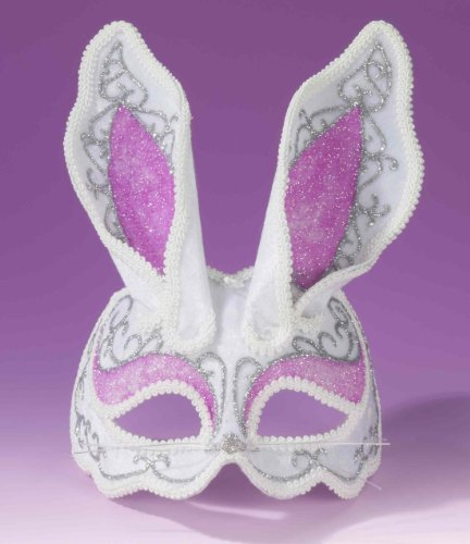 Fancy Bunny Rabbit Venetian Mask (Rabbit Costumes For Adults)
