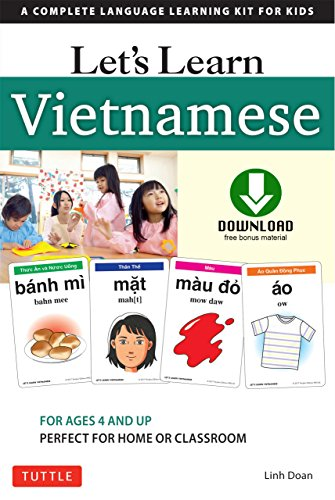 Lets Kit - Let's Learn Vietnamese Ebook: A Complete Language Learning Kit for Kids (64 Flashcards, Audio download, Games & Songs & Learning Guide)