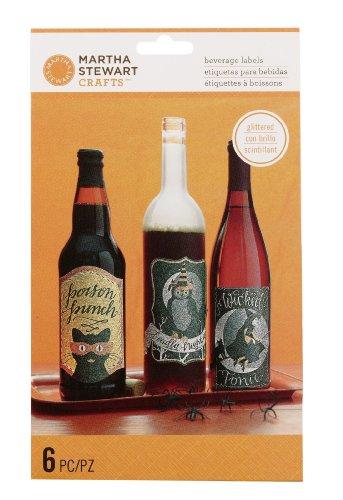 Martha Stewart Crafts Wine Labels, Animal Masquerade -