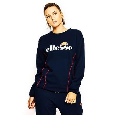 f8b62e97231b1 ellesse Sweat Simona Bleu Femme - Bleu - XXS  Amazon.fr  Vêtements ...