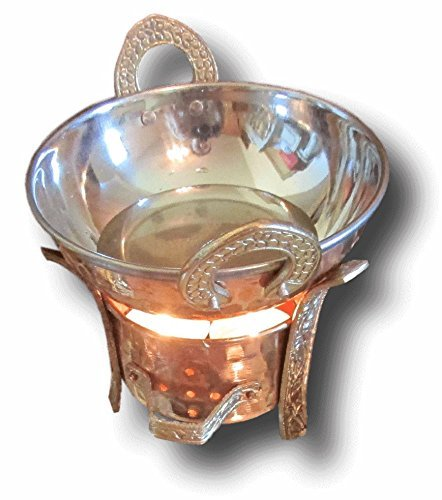 - Copper and Stainless Steel Massage Oil Warmer