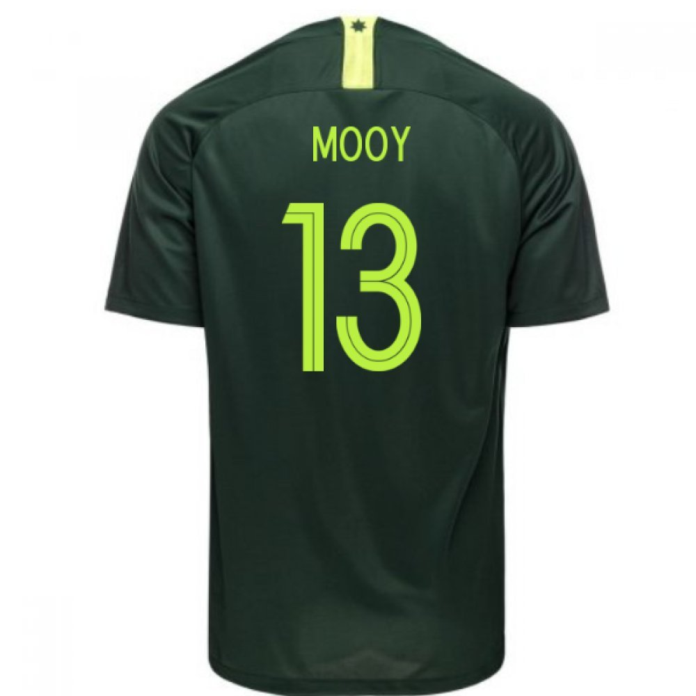【在庫僅少】 2018-2019 Australia Away Nike Football Shirt Small (Mooy Football Small 13) B07DK5BV8B Small 34-36