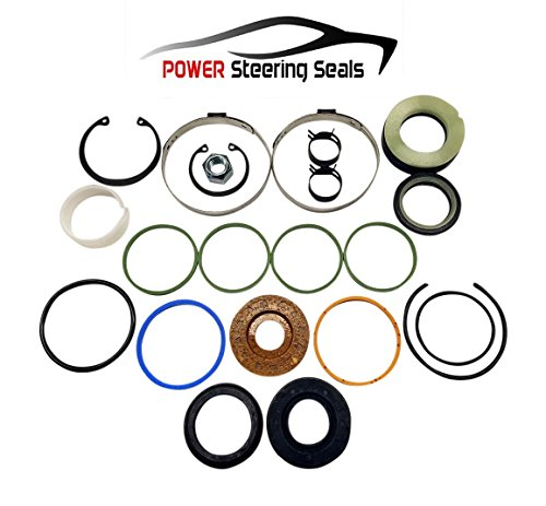 Power Steering Seals - Power Steering Rack and Pinion Seal Kit for Oldsmobile Cutlass Ciera ()