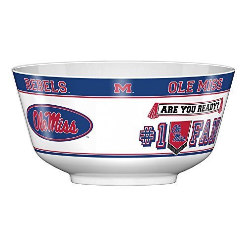 Rebels Snack - Fremont Die NCAA Mississippi Old Miss Rebels Party Bowl