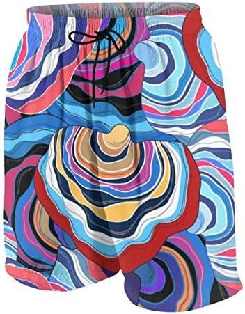 キッズ ビーチパンツ フルカラーな幾何柄 和風 サーフパンツ 海パン 水着 海水パンツ ショートパンツ サーフトランクス スポーツパンツ ジュニア 半ズボン ファッション 人気 おしゃれ 子供 青少年 ボーイズ 水陸両用